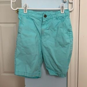 CHILDREN'S PLACE AQUA SHORTS (GREAT CONDITION!)